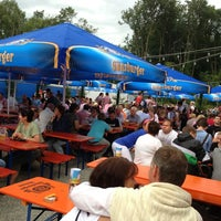 Photo taken at Volksfestplatz Günzburg by Baste v. on 8/13/2013