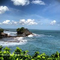 Photo taken at Tanah Lot Beach by Sadia Bali S. on 7/28/2013