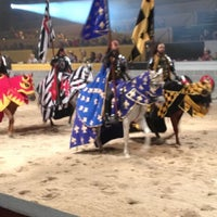 Photo taken at Medieval Times Dinner & Tournament by Regiane C. on 9/20/2013
