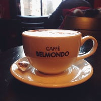 Photo taken at Caffè Belmondo by H. W. on 1/17/2015