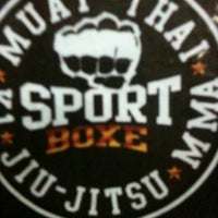 Photo taken at Sport boxe by Guilherme S. on 2/20/2013