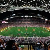 Photo taken at ANZ Stadium by ANZ Stadium on 2/26/2014