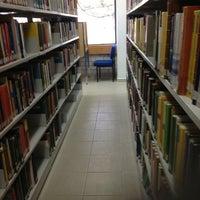Photo taken at Biblioteca iimas by Esther B. on 3/4/2013