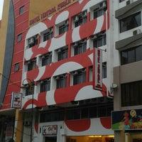 Photo taken at Hotel Sentral Kuala Terengganu by Nuruddin O. on 2/20/2015
