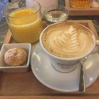 Photo taken at Café TeeVee by Katarína S. on 1/13/2017