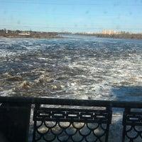 Снимок сделан в Плотина Иваньковской ГЭС пользователем Anna K. 4/29/2013