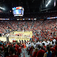 Photo taken at Thomas & Mack Center by Thomas & Mack Center on 11/9/2013