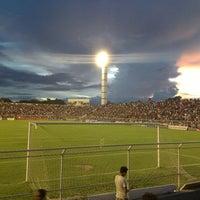 Photo taken at Estadio Frei Epfanio by Maycon M. on 4/1/2013