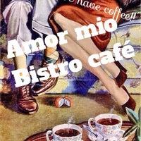 Photo taken at Amor Mío Bistro Café by Virita D. on 8/16/2014