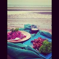 Photo taken at Ashwem Beach by Marihoma on 3/12/2013