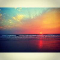 Photo taken at Ashwem Beach by Marihoma on 3/14/2013