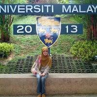 Photo taken at Universiti Malaya (University of Malaya) by Tunku F. on 9/15/2013