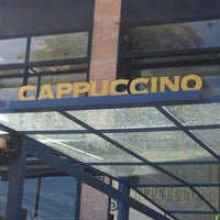 Photo taken at Cappuccino Paseo Maritimo by Alla R. on 5/1/2013
