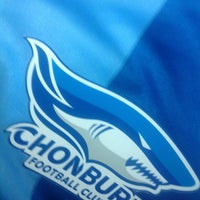 Photo taken at Chonburi F.C. Superstore by Chalermchai S. on 3/27/2013