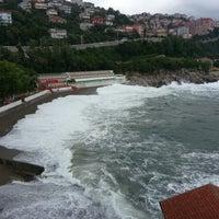 Photo taken at Kapuz Plajı by Ufuk E. on 7/1/2013