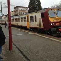 Photo taken at Gare CFL de Dudelange-Ville by Jerome J. on 3/17/2013