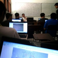 Photo taken at Ruang C1, Institut Teknologi Indonesia by Concordeus N. on 10/6/2013