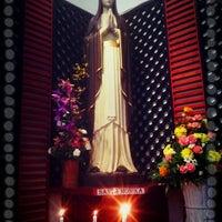 Photo taken at Gereja Katolik Santa Monika by Concordeus N. on 4/28/2013