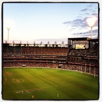 Photo taken at Melbourne Cricket Ground (MCG) by Peter B. on 6/10/2013
