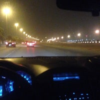 Photo taken at طريق المطار by -Aziz b. on 6/22/2014