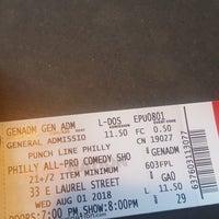 8/1/2018 tarihinde Jason Diggy C.ziyaretçi tarafından Punch Line Philly'de çekilen fotoğraf