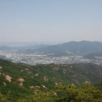 Photo taken at 관악산 연주대 by Yonghan J. on 6/2/2013
