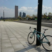 Photo taken at Yeouido Hangang Park by Hyeongu L. on 5/1/2013