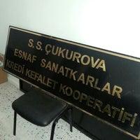 Photo taken at çukurova esnaf Kefalet kooperatifi by Esma D. on 6/1/2014