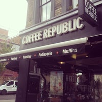 Photo taken at Coffee Republic by Vicente C. on 5/29/2014