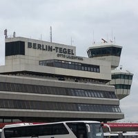 Photo taken at Berlin Tegel Otto Lilienthal Airport (TXL) by Halef D. on 10/26/2013