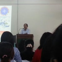 Photo taken at Department of International Relations, Yangon University by Su L. on 8/8/2013