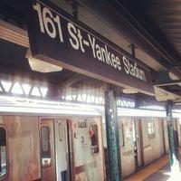 Das Foto wurde bei MTA Subway - 161st St/Yankee Stadium (4/B/D) von Ed E. am 4/14/2013 aufgenommen