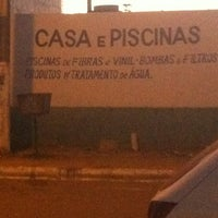 Photo taken at Casa E Piscinas by Danielle X. on 6/20/2013