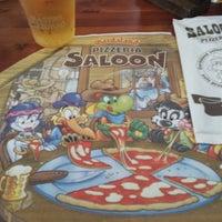 Foto scattata a Pizzeria Saloon da Kaspars R. il 6/9/2014