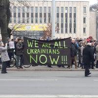 Photo taken at Krievijas vēstniecība | Посольство России by Kaspars R. on 3/2/2014