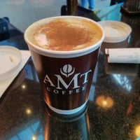 Photo taken at AMT Coffee by Marilena P. on 12/28/2013