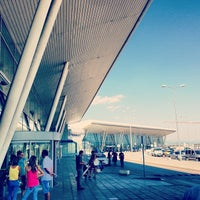 Photo taken at Sofia Airport (SOF) by Mario D. on 7/29/2013