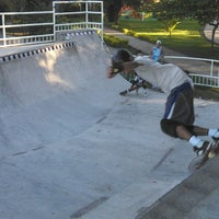 Photo taken at Pista Skate Clube Comercial by Bruno J. on 3/31/2013