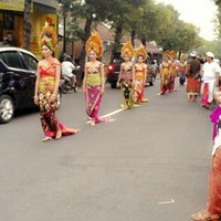 Photo taken at Sukawati by hari l. on 7/17/2014