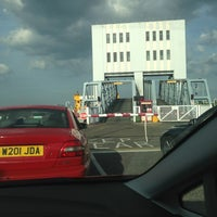Photo taken at Woolwich Ferry by Mark P. on 7/26/2013