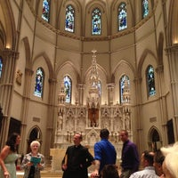 Photo taken at Saint Paul Cathedral by Ellen M. on 5/10/2013