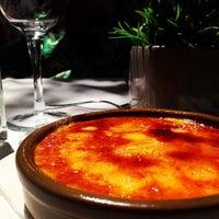 Photo taken at Restaurant La Font de Prades by Javi L. on 6/21/2013