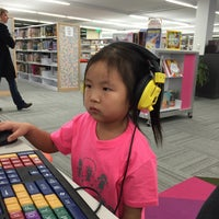 Photo taken at Ames Public Library by huiwon L. on 12/27/2014