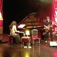 Photo taken at Theaterzaal by Birgit D. on 2/15/2013