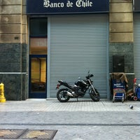 Photo taken at Banco de Chile by Leslie A. on 3/19/2013