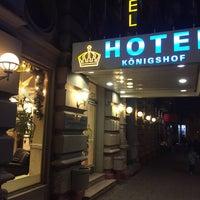 Снимок сделан в Hotel Königshof пользователем Мария Д. 12/18/2016