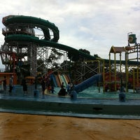 Photo taken at Taman Wisata Lembah Hijau by Elmaiza D. on 4/4/2013