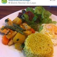 Photo taken at Bistrô Nectar do Lago by Esdras J. on 8/6/2014