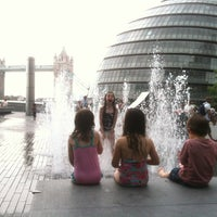 Photo taken at More London Riverside by Hilal emek E. on 7/23/2013