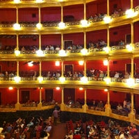 Photo taken at Teatro Degollado by JuanRa R. on 7/28/2013